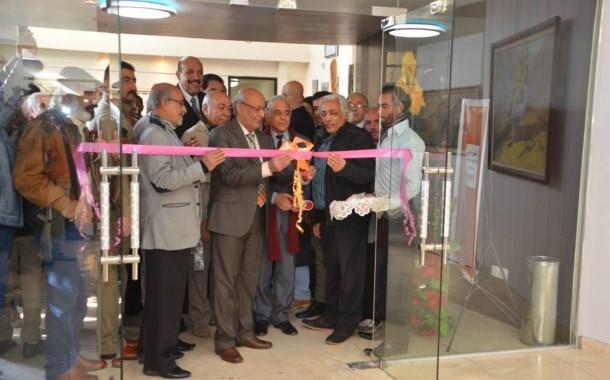 افتتاح المعرض السنوي 2015 لجمعية الفنانين التشكيليين العراقيين يوم السبت 17/1/2015