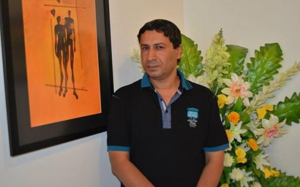افتتاح المعرض الشخصي للفنان اياد حامد على قاعة الق للفنون