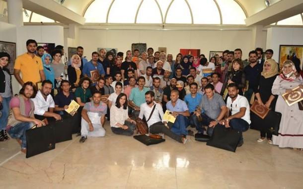 افتتاح معرض جائزة عشتار للشباب لعام 2015 يوم السبت 9/5/2015