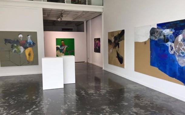 افتتح الفنان سيروان باران معرضه الشخصي الاخير في دبي