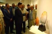 تحت عنوان (حكاية الطين والنار) اقيم المعرض المشترك للفنان قاسم حمزة والفنان محمود عجمي