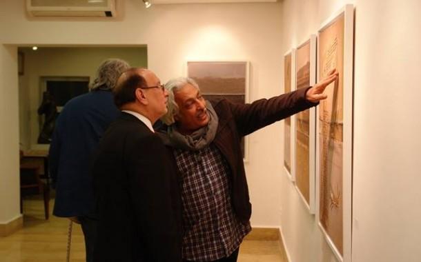 افتتاح المعرض الشخصي للفنان ( قاسم السبتي ) – حروف مخبوئة – على غاليري الاورفلي في العاصمة الاردنية عمان