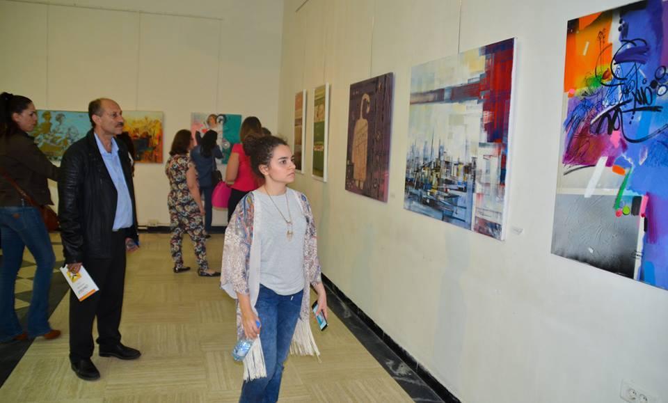 افتتاح معرض الفن التشكيلي العراقي المعاصر في بيروت ( IRAQI PAINTERS BEIRUT -2016 )
