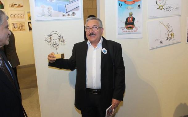 الفنان علي المندلاوي يفوز بجائزة البهجوري لفن الكاريكاتير