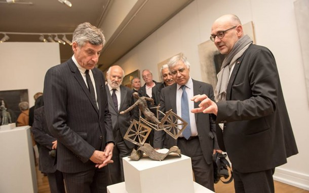 افتتاح معرض الفن العراقي المعاصر لجمعية الفنانين التشكيليين العراقيين في متحف ميتز شمال العاصمة الفرنسية