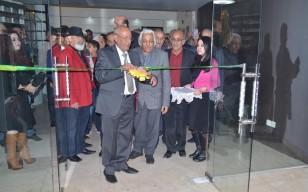 افتتاح المعرض التشكيلي (لجماعة ازاميل ) تحت عنوان ( تحية الى الفنان صالح القره غولي )
