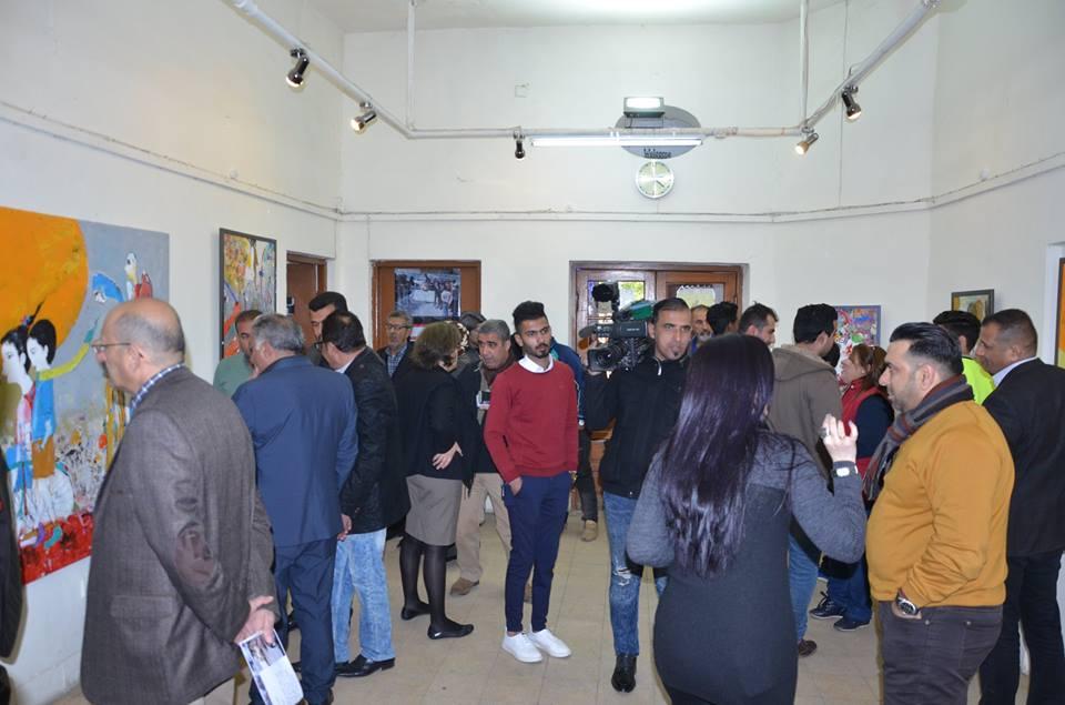 المعرض الشخصي الثالث للفنان التشكيلي ( محمد مسير )