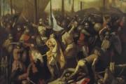 نجح العراق بإيقاف بيع أحد الأعمال الفنية المهمة للفنان الرائد فائق حسن تحمل عنوان ( معركة ذات الصواري )