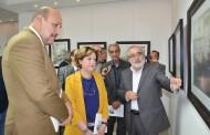 افتتاح المعرض الشخصي للفنان ((محمد شوقي ))