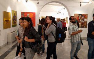 افتتح في العاصمة التونسية معرض ( مختارات من الفن العراقي المعاصر )