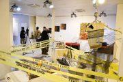 ( الذاكرة السوداء) المعرض الشخصي للفنان التشكيلي رياض البرزنجي