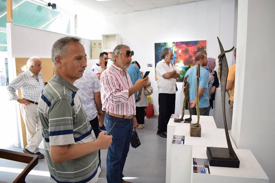 أفتتح مساء السبت 14 تموز 2018 في المدينة التركية اسطنبول معرض ( جماعة أزاميل وضيوفها)