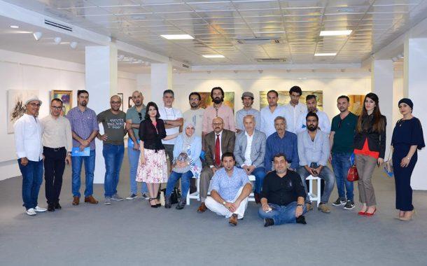 افتتاح المعرض التشكيلي المشترك تحت عنوان ( معاً دائماً ) لنخبة من الفنانين الشباب وفناني كردستان