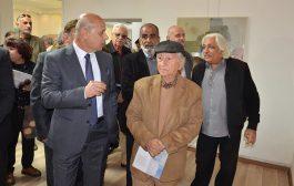 افتتاح معرض الفنان التشكيلي حسن ابراهيم