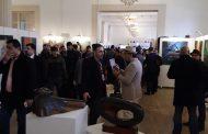 فعاليات معرض الفن التشكيلي المشترك تحت عنوان (العودة الى الموصل- صراع من اجل الحياة )