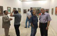 افتتاح المعرض الدائم للفن التشكيلي ومعرض الربيع (طبيعة من البصرة )