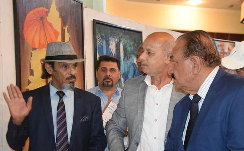 افتتاح معرض لفناني جمعية التشكيليين العراقيين ، ضمن فعاليات ( أيام أوروك الثقافية )