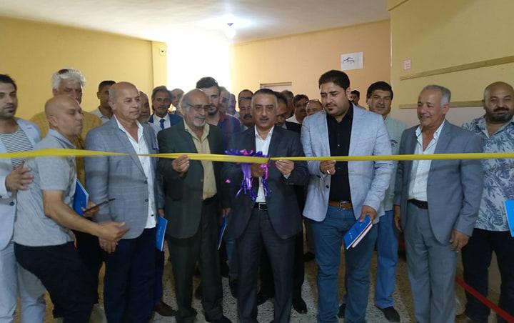 افتتاح المعرض التشكيلي السنوي لجمعية الفنانين التشكيليين العراقيين / فرع الأنبار