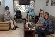 زارت مساء الخميس الموافق 12-9-2019 السيدة فكتوريا ليندسي مديرة المجلس الثقافي في سفارة المملكة المتحدة بالعراق معرض النحت العراقي
