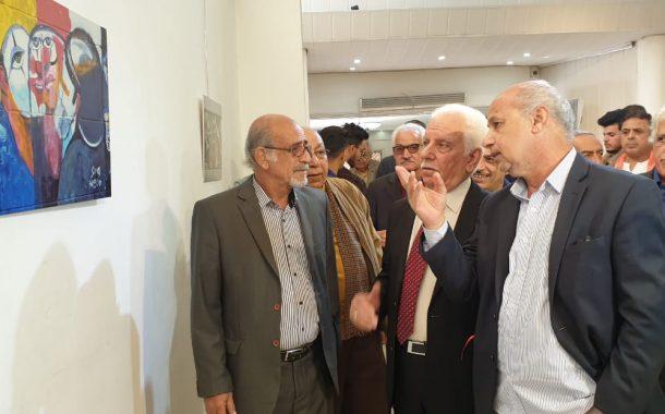 نظمت جمعية الفنانين التشكيليين العراقيين  حفل فني لتكريم رسامي ساحة التحرير ،