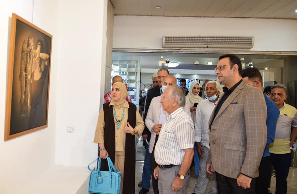 افتتاح معرض تشكيليات عراقيات لعام ٢٠٢١