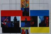 افتتاح المعرض الشخصي الثاني للفنان اجود العزاوي  تحت عنوان تقاطعات