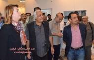 تحت عنوان ( رسم وفوتغراف يوم في المانيا ويوم في بغداد ) تم افتتاح معرض صور المانية بريشة عراقية