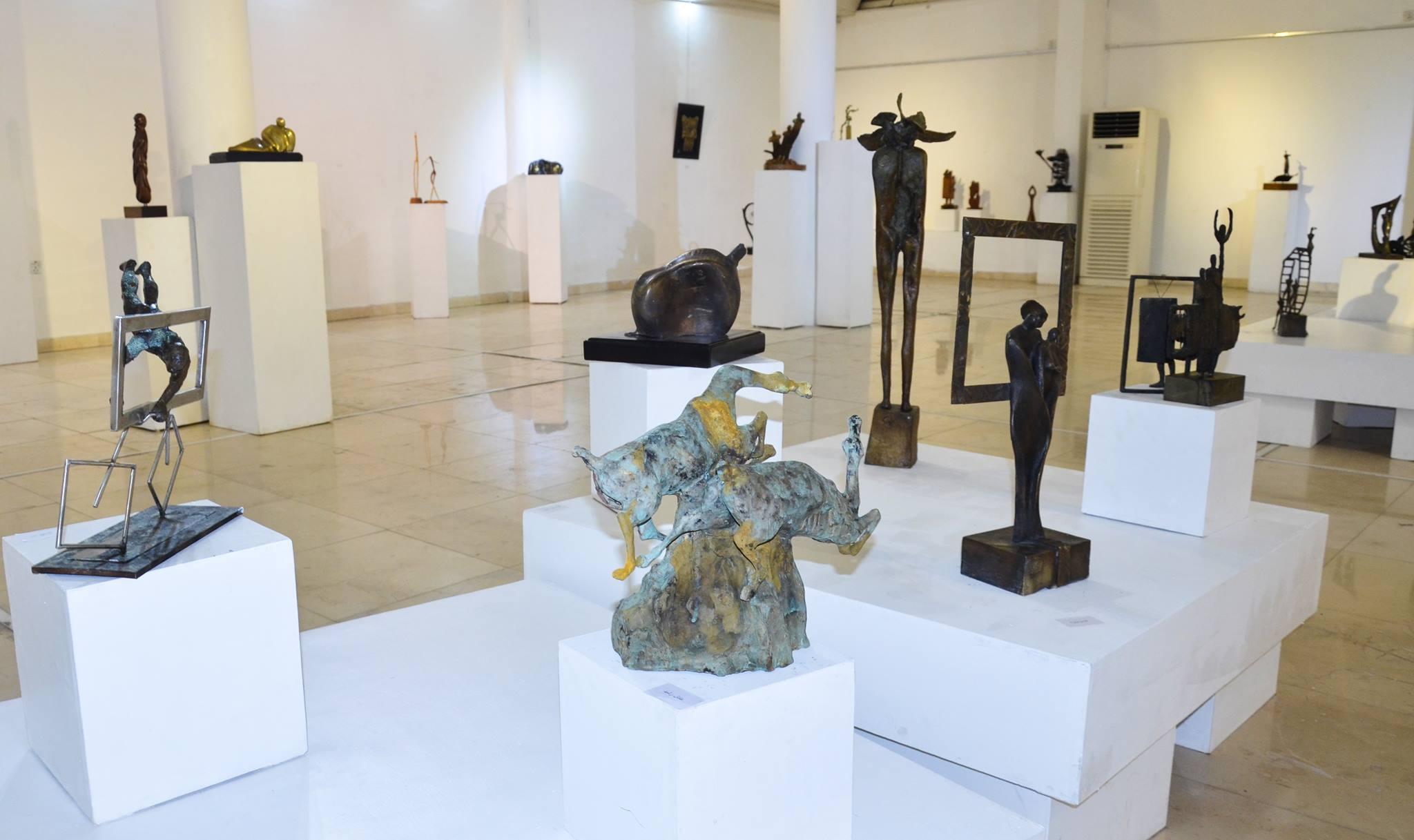 افتتاح معرض النحت العراقي 2017
