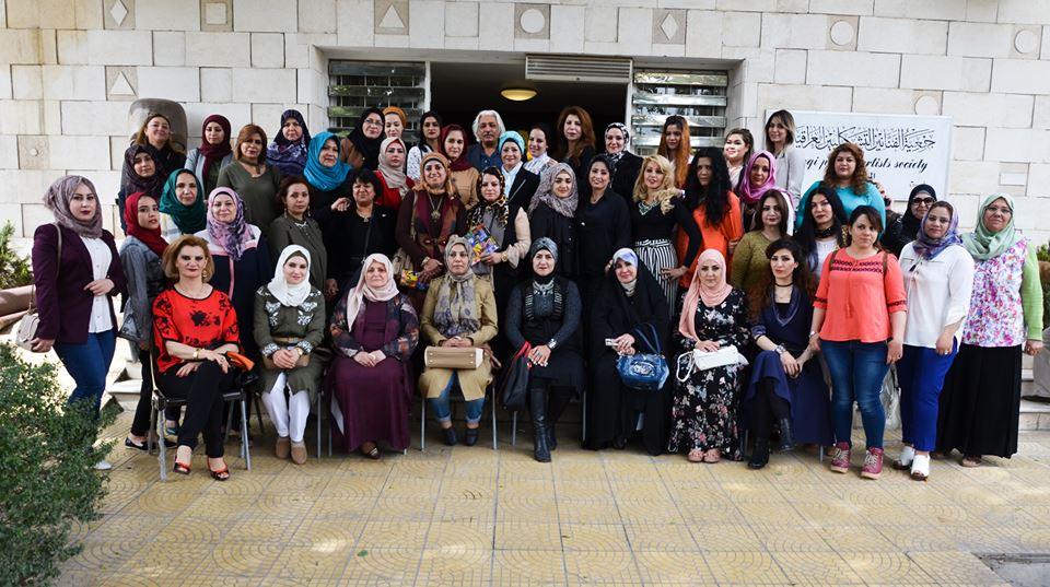 افتتاح المعرض المشترك ( للفنانات التشكيليات العراقيات 2018 )