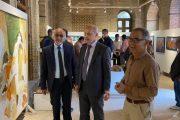 افتتاح المعرض التشكيلي السنوي لفرع جمعية الفنانين التشكيليين العراقيين في محافظة البصرة