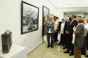 أفتتاح المعرض السنوي لجمعية الفنانيين التشكيليين العراقيين لعام ٢٠٢١